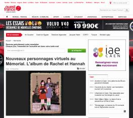 Rachel et Hannah - article Ouest-France