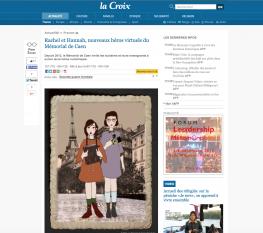Rachel et Hannah - article La Croix