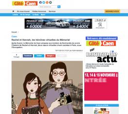 Rachel et Hannah - article Côté Caen