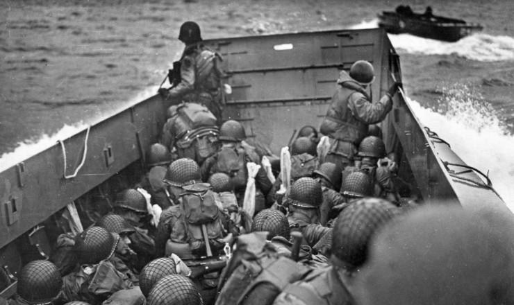 Débarquement Normandie. Seconde Guerre mondiale. Rachel Hannah