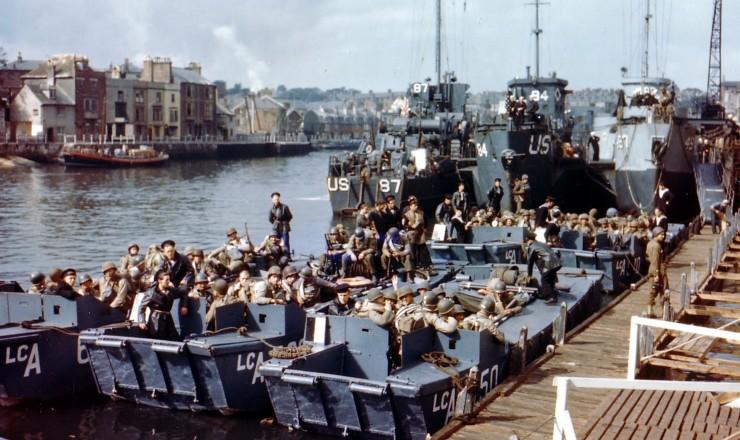Opération Overlord, embarquement, juin 1944